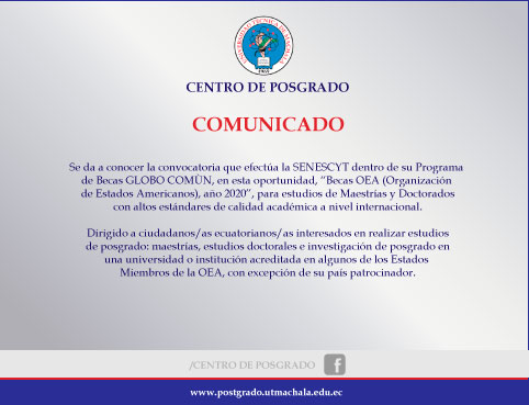 Becas OEA Julio 2020