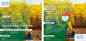 Cronograma para admisión, matrícula e inicio de clases de la maestría en Turismo primera cohorte